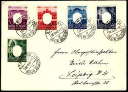 COURRIER EN PROVENANCE DE STANISLAU  - 1943 - GROSSDEUTSCHES REICH GENERALGOUVERNEMENT - - Briefe U. Dokumente