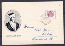 DDR - 1956 - Michel Nr. 543 - FDC - Gebraucht