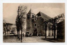 - CPA LIVRY-SUR-SEINE (77) - L'Eglise (avec Personnages) - Edition Thibault 408 - - Autres Communes
