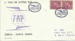 PORTUGAL, SOBRE AEREO TAP - 1910-... República