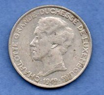 Luxembourg  -  5 Francs 1949  -  Km # 50  --  état  TTB - Luxembourg