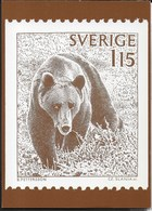 SVERIGE -  ORSI - 11.04.1978 - NUOVA - Francobolli (rappresentazioni)