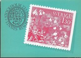 SVERIGE - I VIAGGI DI LINNEO - DA LIBRETTO - NUOVA - Francobolli (rappresentazioni)
