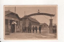 Sarralbe Entree De La Caserne Cachet Militaire Dos - Sarralbe