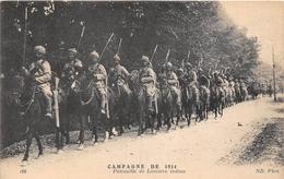 Campagne De 1914  -  Patrouille De Lanciers Indous   -  Militaires, Guerre 1914-18 - Weltkrieg 1914-18