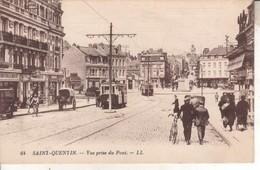 02DB01Q64 CPA 02 - 64. SAINT QUENTIN  VUE PRISE DU PONT     NV - Saint Quentin