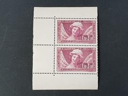 N° 256a Neuf ** Gomme D'Origine, Paire De Carnet  Etat LUXE - Unused Stamps
