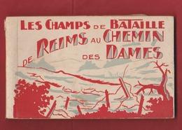 CARNET DE  15 Vues Du CHEMIN DES DAMES 1914-1918 - 1914-18