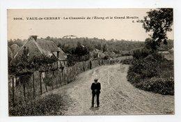 - CPA VAUX-DE-CERNAY (78) - La Chaussée De L'Etang Et Le Grand Moulin 1913 - Photo-Edition Malcuit 2006 - - Vaux De Cernay