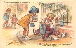 """¤¤  -  Illustrateur """" Germaine BOURET """"  -  Le Raccommodeur De Porcelaine  -  Enfants   -  ¤¤ - Bouret, Germaine"""