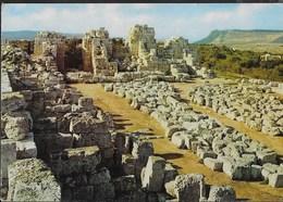 SICILIA - SIRACUSA - CASTELLO DI EURIALO - VIAGGIATA 1985 - Siracusa