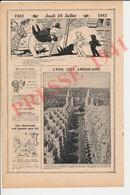 2 Scans Presse 1941 Vue Prise De L'Hotel De Ville De Villeurbanne Lyon Cité Américaine Humour Impôt Sur Chiens 223CH17 - Old Paper