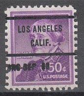 USA Precancel Vorausentwertung Preo, Bureau California, Los Angeles 1051-71, Dated - Vereinigte Staaten