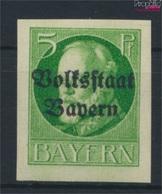 Bavière 117B Iv, Y Dans Bavière Sans Frottis Neuf Avec Gomme Originale 1920 King Ludwig Avec Surcharge (9277 (9277856 - Beieren