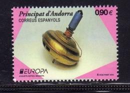 PRINCIPAT D'ANDORRE ANDORRA SPANISH SPAGNOLA ANDORRA 2014 EUROPA CEPT € 0.90 MNH - Nuovi