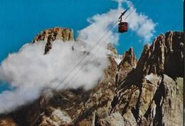DOLOMITI - GRUPPO DELLE PALE  IL CIMONE - FUNIVIA COLVERDE - VIAGGIATA 1980 - Alpinisme