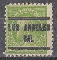 USA Precancel Vorausentwertung Preo, Locals California, Los Angeles 205, Perf. 11x11, Better Stamp - Estados Unidos