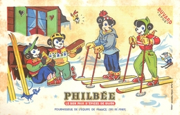 Buvard Ancien PAIN D EPICES PHILBEE - Gingerbread
