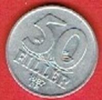 HUNGARY  # 50  FILLER FROM 1987 - Hongrie
