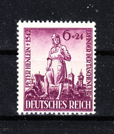 Germania Reich - 1942. Peter Heinlein, Inventore Dell' Orologio. Inventor Of The Watch. Fresh, MNH - Orologeria