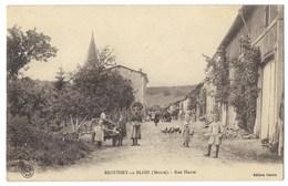 CPA 55 BROUSSEY EN BLOIS Grande Rue - France
