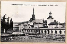 X30070 VALBONNE Gard  Chartreuse De ..Vue D'ensemble Du Grand CLOÎTRE 1910s Jardin Potager - France