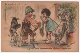 Germaine Bouret  Ed AEC  Marchand De Fromages De Chèvre - Bouret, Germaine