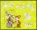 NctD199 WALT DISNEY DONALD BEER BEAR MOUNTAIN CHRISTMAS DOMINICA 1984 PF/MNH - Disney
