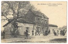 CPA 56 ST RAOUL Commune De GUER - L' Ecole Communale - Andere Gemeenten