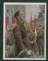 WW II Zigaretten Sammelbild 6,2 X 4,8 Cm , Kampf Um Das Dritte Reich Nr. 195 : Dr. Goebbels , In Berlin. - Albums & Catalogues