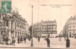49 ANGERS PLACE DU RALLIEMENT HOTEL DES POSTES LA RUE D'ALSACE - Angers