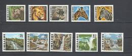 Lote De 10 Sellos Del Tema: Fauna Y Paisajes. - Sellos