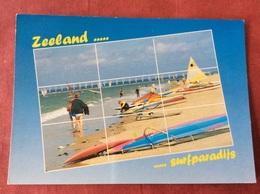 Nederland. Pays-Bas. Holland. Zeeland... ... Surfparadijs - Postkaarten