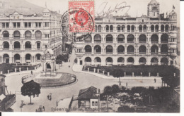 HONG KONG, Queen's Statue,, 1909, Stamp ,  2 Scans - Chine (Hong Kong)