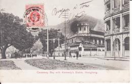 HONG KONG,Causeway Bay, Kennedy Stable, 1909, Stamp ,  2 Scans - Chine (Hong Kong)