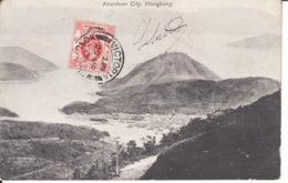 HONG KONG,Aberdeen City, 1909, Stamp ,  2 Scans - Chine (Hong Kong)