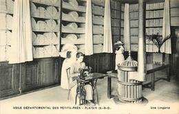 Plaisir - Asile Départemental Des Petits Prés - Machine à Coudre - Couture Couturière - Belle Animation - Plaisir