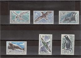 V16 - TAAF - PO55/60 ** MNH De 1976 - Faune Antarctique  - OISEAUX Et MAMMIFERES MARINS - Cote 80,00 - Neufs