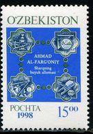 KA0449 Uzbekistan 1998 Islamic Medal 1V MNH - Uzbekistan