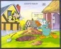 NctD194 WALT DISNEY GOOFY UNCLE SCROOGE THE MISER'S GOLD AESOP'S FABLES MALDIVES 1990 PF/MNH - Disney