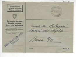 PRELES Camp De Refugies Civils WW2 SUISSE INTERNES CAMP INTERNEMENT /FREE SHIP. R - Marcophilie