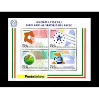 Italia Repubblica 2011 Foglietto N 67 Istituzioni Agenzie Fiscali - 6. 1946-.. Repubblica