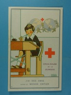 Croix-Rouge De La Jeunesse J'ai Des Amis... (Salzedo) - Croix-Rouge