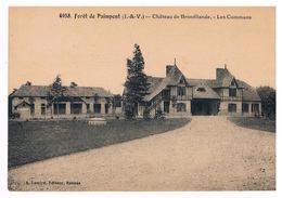 CPA PAIMPONT Les Communs Du Chateau De Broceliande - Paimpont