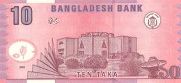 BANGLADESH P. 39a 10 T 2002 UNC - Bangladesh