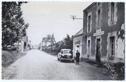CPSM 56 SAINT BARTHELEMY Rue De La Nouvelle Poste - Café - Sonstige Gemeinden