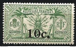 New Hebrudes  - 1920 Surcharge 10c/5c MNH ** - French Legend