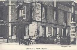 Cpa 89 – Paron – La Maison Chicouet ( Moto ) - Paron