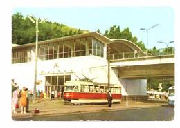 Station De Métro De Kiev Dniepr Plaksin 1966 Tram - Métro