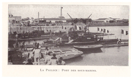 1924 - Iconographie - La Rochelle (Charente-Maritime) - Le Port De La Pallice - FRANCO DE PORT - Old Paper